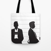 johnny cash Tote Bags featuring Johnny Cash by Jarom Ward