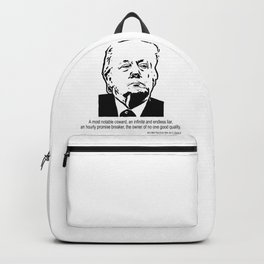 A Most Notable Coward Backpack