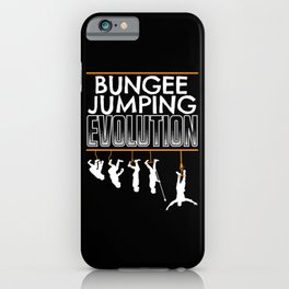 Bungee Jumping iPhone Case