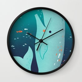 Jonah and the Whale Wall Clock