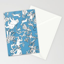 Star Constellation Map Stationery Cards