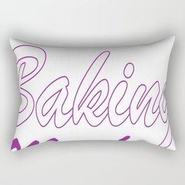 Lean Mean Baking Machine Funny T-shirt Rectangular Pillow