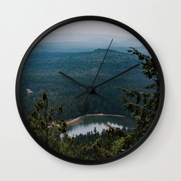 Echo Lake in The White Mountains Wall Clock
