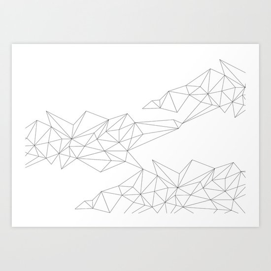 connections 3 Art Print