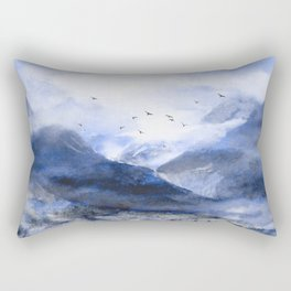 Blue Mountain Rectangular Pillow