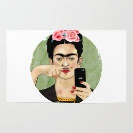 The Original Queen Of The Selfies Rug