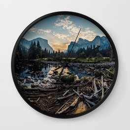 May Your Adventures Be Wild Wall Clock