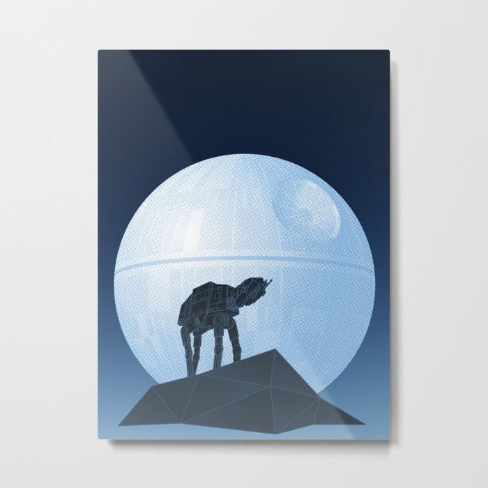 Howl at at the Moon Metal Print