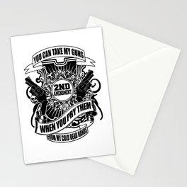 2nd Amendment Stationery Cards
