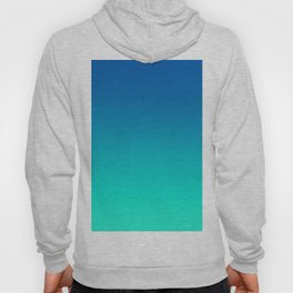Teal Mint Ombre Hoody