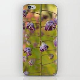 Purple Botanica iPhone Skin
