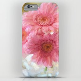 To Be Yourself - Flower Art iPhone Case