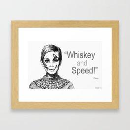 Forever Fast Framed Art Print