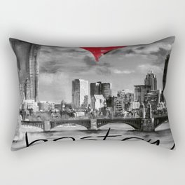 I love Boston Rectangular Pillow