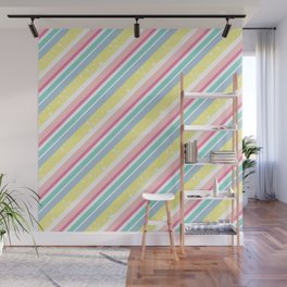 Party stripes Wall Mural