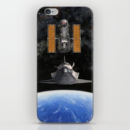 Hubble Rendezvous iPhone Skin