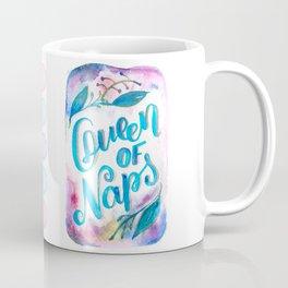 Watercolor Queen of naps Coffee Mug