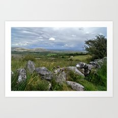 Slowly the Landscape Changes.... Art Print