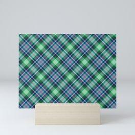 Scottish tartan #25 Mini Art Print