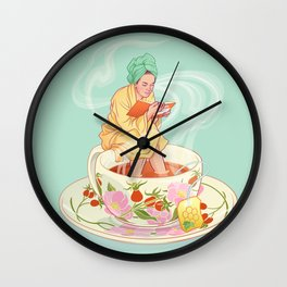 Cure for the common cold Wall Clock