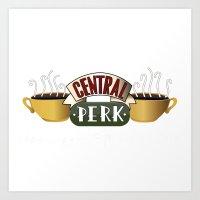central perk Art Prints featuring Friends - Central Perk by Central Perk