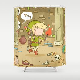 A Link to the past Shower Curtain