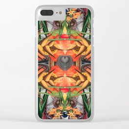 Concrescence Clear iPhone Case