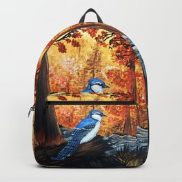 Blue Jay Life Backpack