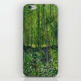 Vincent Van Gogh Trees & Underwood iPhone Skin