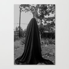 dark cloth 2 Canvas Print