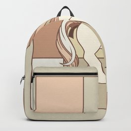 g1 my little pony abstract beige Backpack