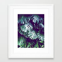 palms Framed Art Prints featuring PALMS by Sorbetedelimon