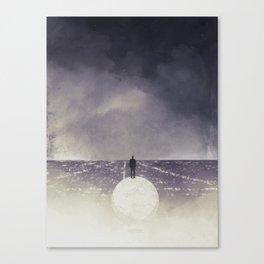 VISITING Canvas Print