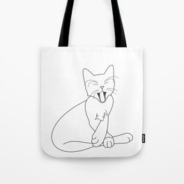Time Fur a Cat Nap Tote Bag