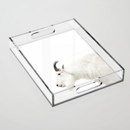 NORDIC MOUNTAIN GOAT Acrylic Tray