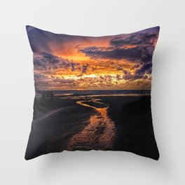 Sauble Beach Art Decor. Throw Pillow