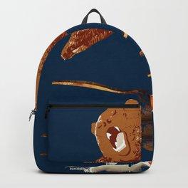 flaying bear Backpack