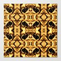 Gold Brown Fantasy Pattern by costa