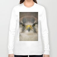 falcon Long Sleeve T-shirts featuring Falcon by Pauline Fowler ( Polly470 )