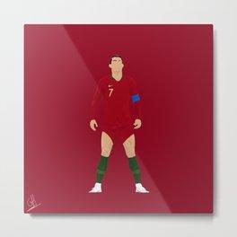 Cristiano Ronaldo - Portugal Metal Print
