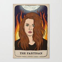 Sarah Manning Tarot Card Canvas Print