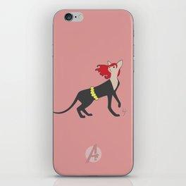BlackCat Widow iPhone Skin