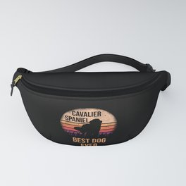 Cavalier king charles spaniel graphic For Dog Lovers Cute Dog Fanny Pack