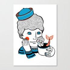 Sailor at Tea Canvas Print