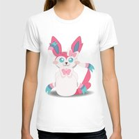 sylveon T-shirts featuring Evolution Bobbles - Sylveon by creativeesc