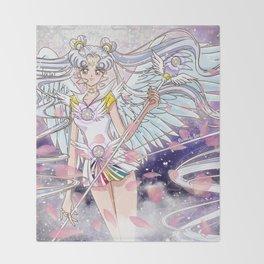 Sailor Cosmos Throw Blanket