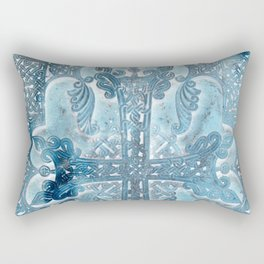 Celtic Blue - JUSTART © Rectangular Pillow