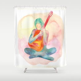 The Spirit of Music Shower Curtain