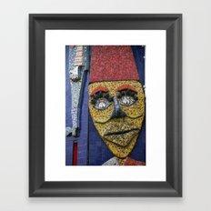 Luna Park Mosaic Framed Art Print
