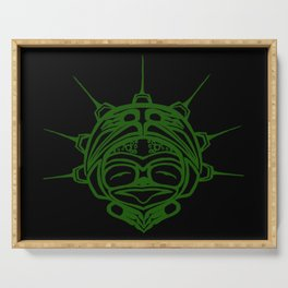 Grass Frog Ink Serving Tray